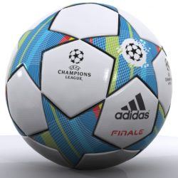 Adidas Finale 3D Official Match Ball Champions ( 149.13KB jpg by emiliogallo )
