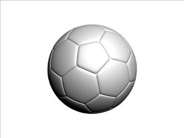 soccer ball 3d model max 94826