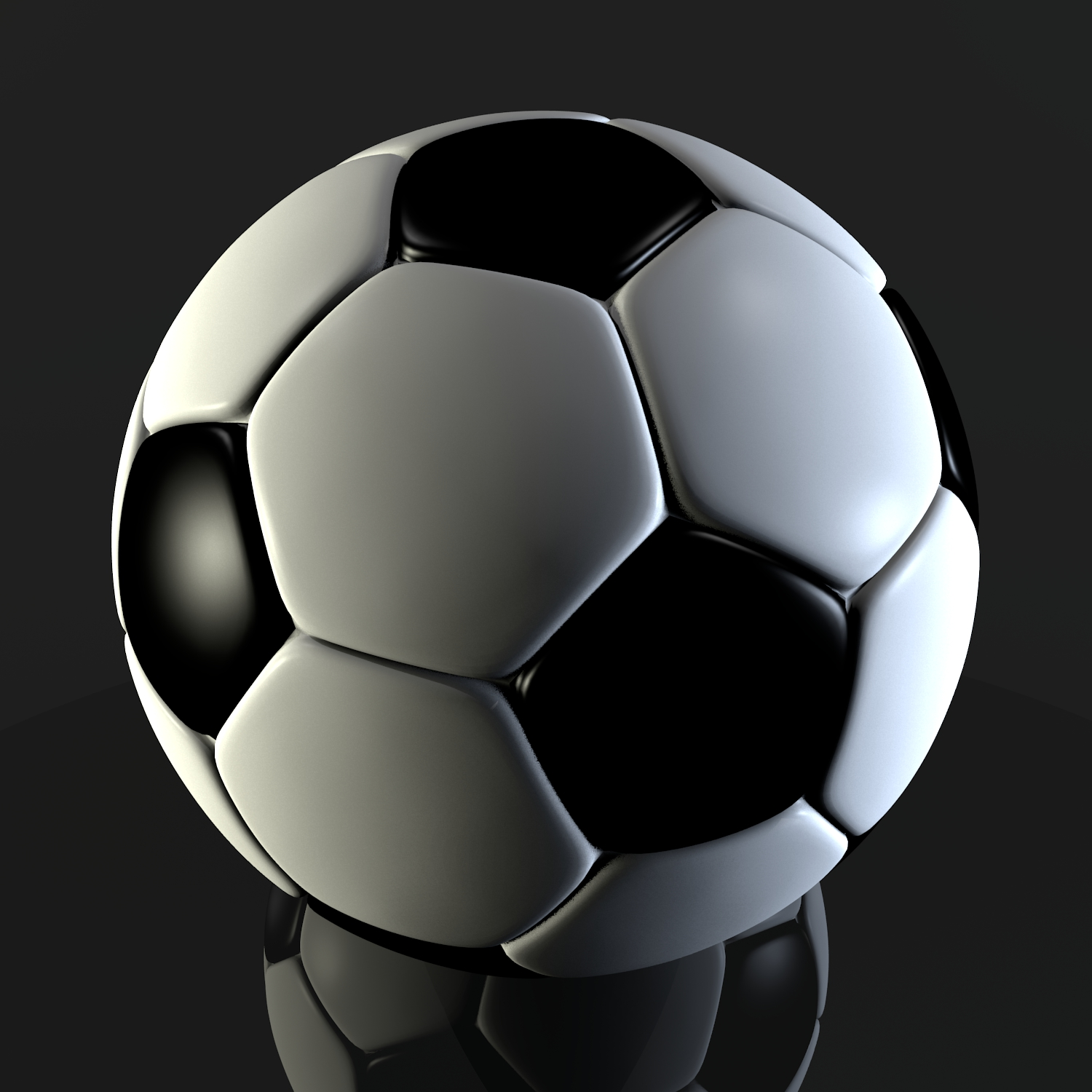 soccer ball v2 3d model blend obj 116217