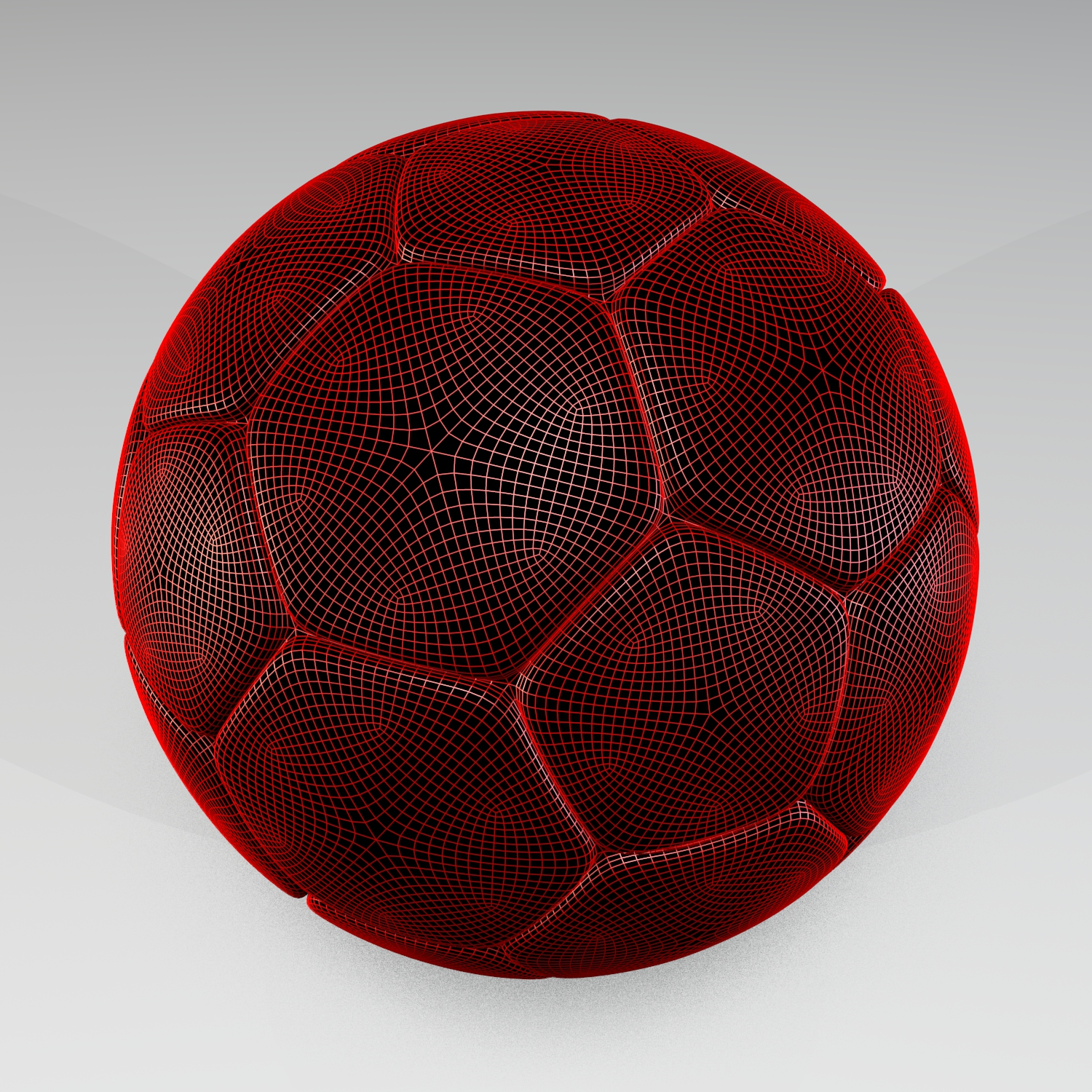 soccer ball v2 3d model blend obj 116218