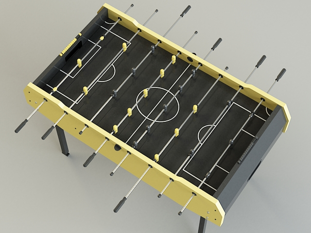 table-soccer 3d model 3ds max obj 139170