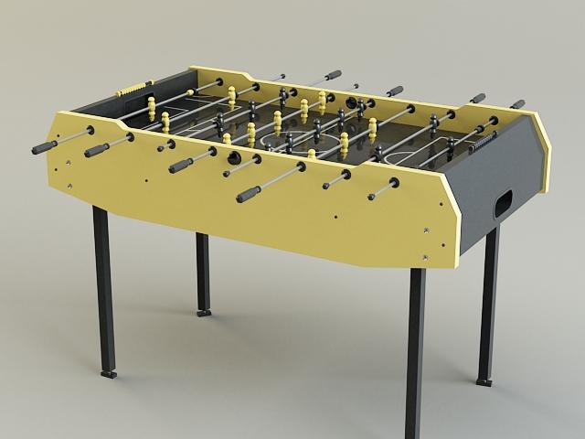 table-soccer 3d model 3ds max obj 139171