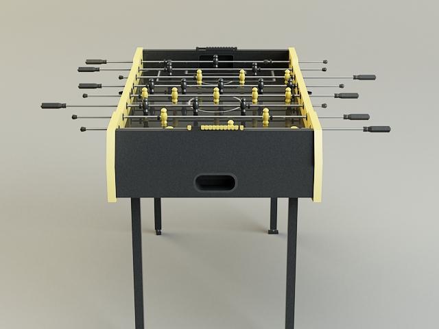 table-soccer 3d model 3ds max obj 139172
