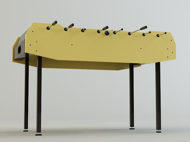 table-soccer 3d model 3ds max obj 139173