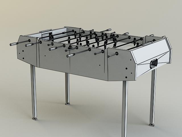 table-soccer 3d model 3ds max obj 139175