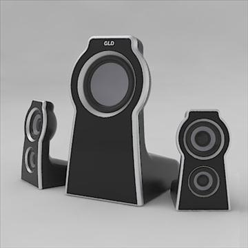 home theater 3d model 3ds 3dm obj 103500