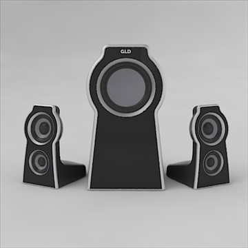 home theater 3d model 3ds 3dm obj 103501