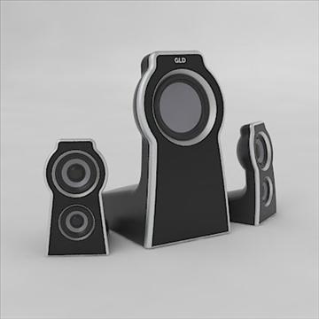 home theater 3d model 3ds 3dm obj 103502