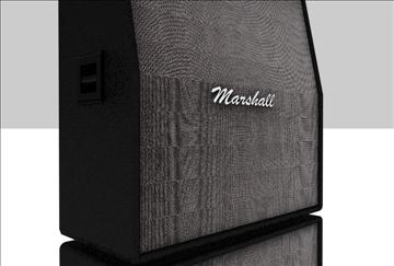 marshall amplifier set 3d model 3ds c4d texture 86872