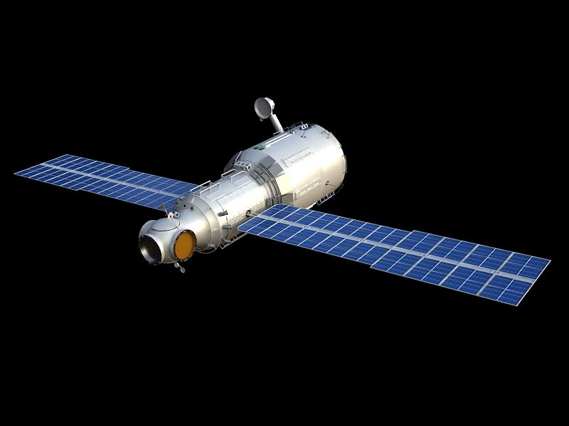 zvezda service module 3d model max 148218