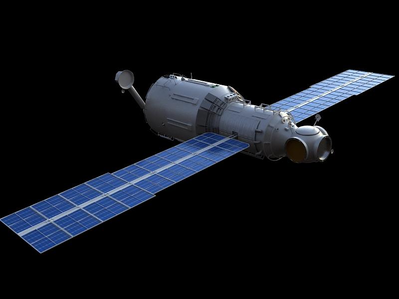 zvezda service module 3d model max 148219
