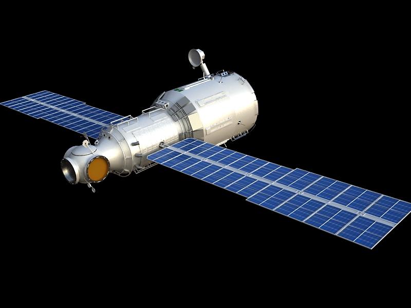 zvezda service module 3d model max 148220