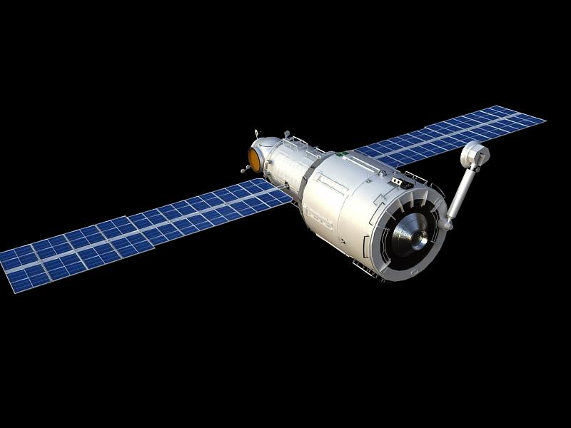 zvezda service module 3d model max 148221