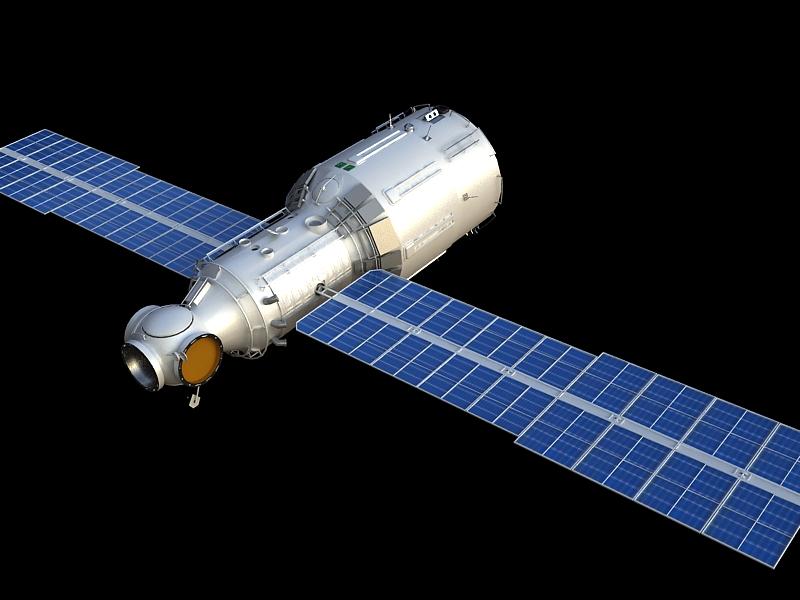 zvezda service module 3d model max 148222