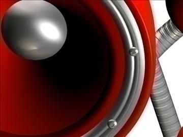 modern speaker 3d model max 107741