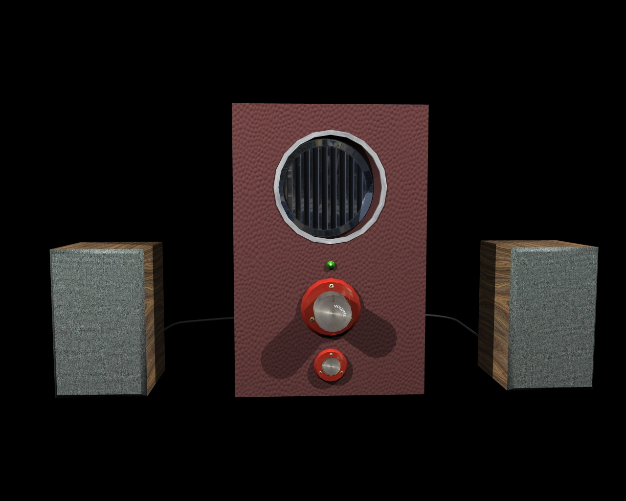 speakers 2 in 1 3d model 3ds 164299