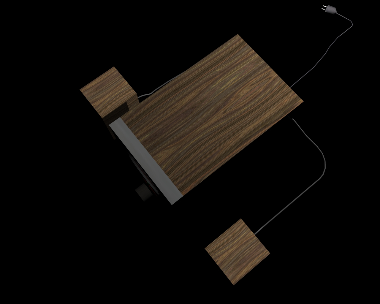 speakers 2 in 1 3d model 3ds 164302