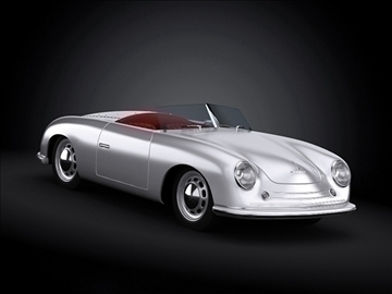 1948 porsche 356 roadster model 3d màxim 101855