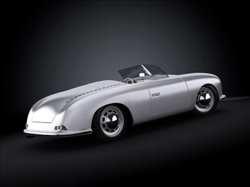 1948 porsche 356 roadster 3d model max 101856