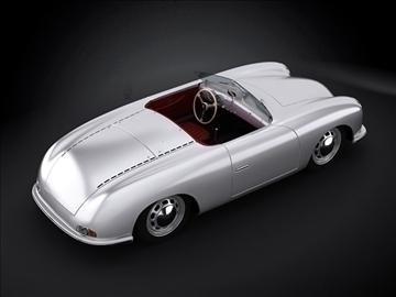 1948 porsche 356 roadster 3d líkan max 101857