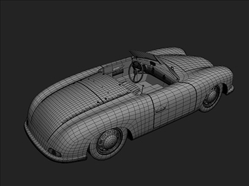 1948 porsche 356 roadster 3d líkan max 101858