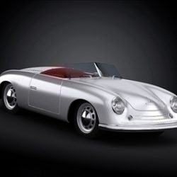 1948 Porsche 356 Roadster ( 45.45KB jpg by ArchCars )
