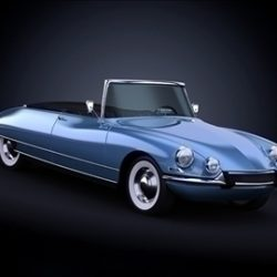 1958 Citroen DS19 ( 46.66KB jpg by ArchCars )