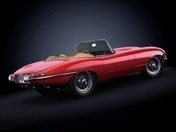1963 jaguar e type 3d model max 101868