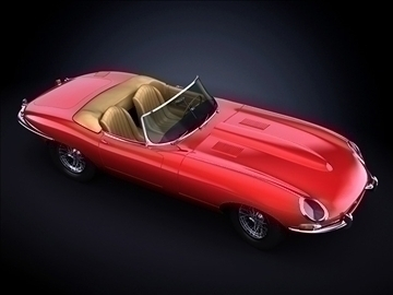 1963 jaguar e type 3d model max 101869