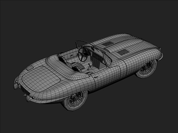 1963 jaguar e type 3d model max 101870