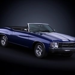 1971 Chevrolet Chevelle SS ( 46.67KB jpg by ArchCars )
