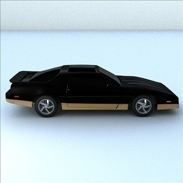 1985 trans am 3d model 3ds max lwo obj 100286
