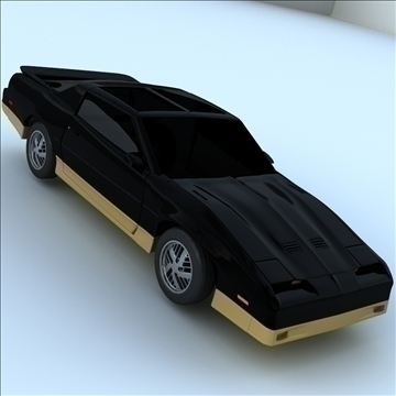 1985 trans am 3d model 3ds max lwo obj 100287