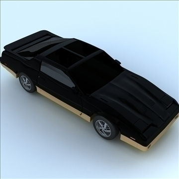 1985 trans am 3d model 3ds max lwo obj 100288