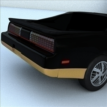 1985 trans am 3d model 3ds max lwo obj 100289
