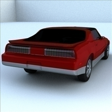 1985 trans 3d model 3ds max lwo obj 100291