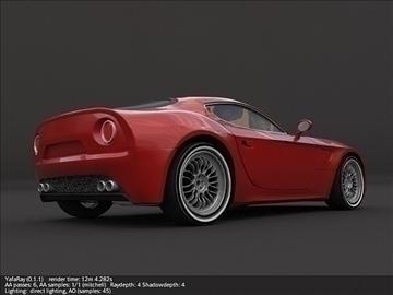 alfa romeo 8c competizione model 3d 3ds max fbx cymysgedd c4d lwo obj 107205