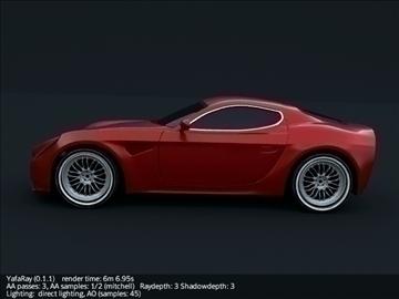 alfa romeo 8c competizione model 3d 3ds max fbx cymysgedd c4d lwo obj 107207