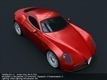 alfa romeo 8c competizione model 3d 3ds max fbx cymysgedd c4d lwo obj 107208