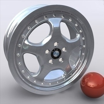 alloy wheel 3d model 3ds max obj 109244