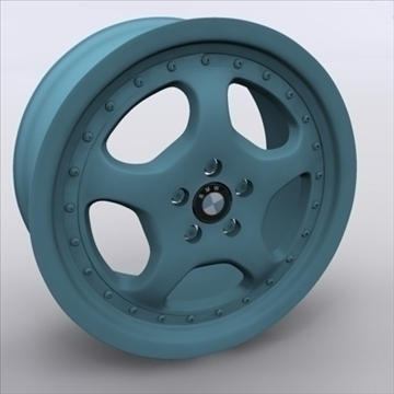 alloy wheel 3d model 3ds max obj 109246