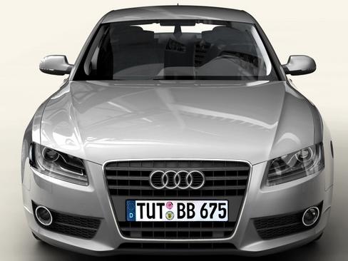 audi a5 sportback 3d model 3ds max c4d lwo ma mb obj 113832