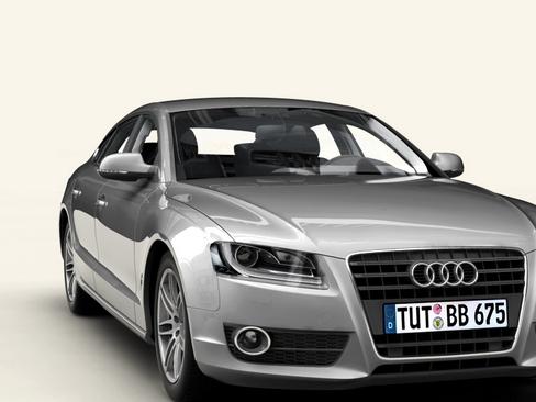 audi a5 sportback 3d model 3ds max c4d lwo ma mb obj 113835