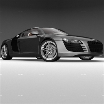 audi r8 car 3d model 3ds max obj 94270