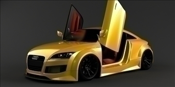 audi tt avtomobil 3d model max 87716