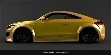 audi tt car 3d model max 87718