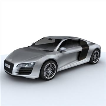 Audi R8 for games and viz 3d model max 86833