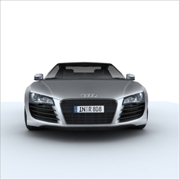 Audi R8 for games and viz 3d model max 86834