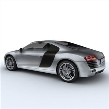 Audi R8 for games and viz 3d model max 86836