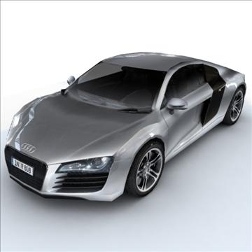 Audi R8 for games and viz 3d model max 86837